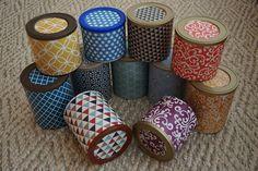 Almofada d'Alfazema: As caixas recicladas, como todos sabemos, podem te...