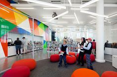 How To Design A Library For Teens: Bleachers, Snacks, And Wii