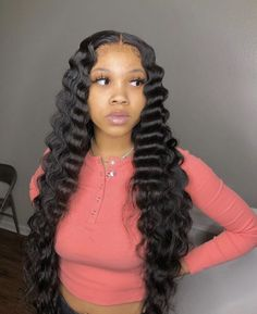 Gamay Hair Glueless Virgin Human Hair Wigs Deep Wave 360 Lace Frontal Wigs for Black Women Baddie Hairstyles, Weave Hairstyles, School Hairstyles, Hairstyles Videos, Everyday Hairstyles, Formal Hairstyles, Wedding Hairstyles, Quick Braided Hairstyles, Hairstyles Pictures