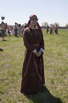 Costume Eastern Slavs: Slovens from Novgorod, 11 се. фото Анна Иванова  Фотографии Русборг – 76 альбомов