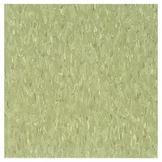 Armstrong�12-in x 12-in Little Green Apple Chip Pattern Commercial Vinyl Tile