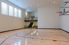 SO wish i could get a basketball court in my house ...
