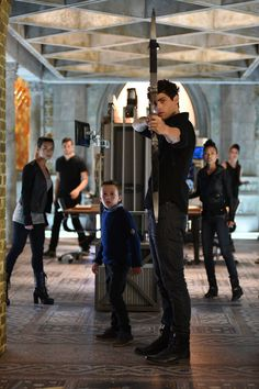 Shadowhunters (freeform network): Alec Lightwood and brother Max