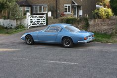 Have you ever seen one of these? 1970 Lotus Elan +2S