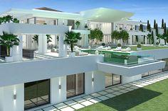 White Arc, La Zagaleta | #luxury living | contemporary home architecture