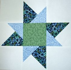 p and b star sampler substituted uneven star for block 6 - 001 | Flickr - Photo Sharing!
