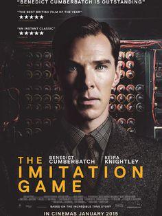 """""""Imitation Game"""", un vrai chef-d'oeuvre, un film magistral, une histoire vraie à voir absolument ! Celle d'Alan Turing, l'homme qui a permis de gagner la seconde guerre mondiale en """"crackant"""" la machine codée des nazis. Je l'attendais et il a été parfait ! Un magnifique film, à voir de toute urgence ! Retrouvez ma critique complète, les infos et la bande-annonce VF ici :  http://cocomilady2.revolublog.com/imitation-game-un-vrai-chef-d-oeuvre-un-film-magistral-une-histoire-vr-a114502358"""