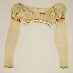 Bodice,1804–14, British (probably). In the Metropolitan Museum of Art costume collection.