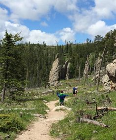Take on one of the most gorgeous hikes showcasing the best of the Black Hills of South Dakota on this trail in Custer State Park. South Dakota Vacation, South Dakota Travel, North Dakota, Places To Travel, Places To Visit, Rv Travel, Custer State Park, Road Trip Usa, My Escape