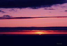 Sunset in Montalvo beach.