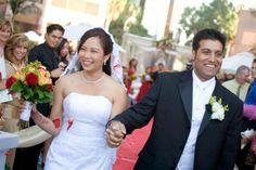 Wedding ceremony at the Long Beach Hilton. Photo courtesy of Lifetime Images Wedding Photography ( LifetimeImages.com)  Copyright 2014