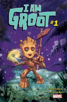 Marvel To Publish A Baby Groot Comic By Christopher Hastings And Flaviano, Announced At ComicsPRO