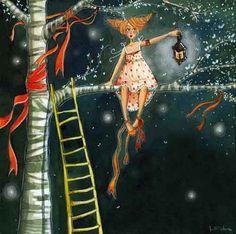 Anne Soline .  Zambullirse en el universo de  Lili Gribouillon  es un placer.         Lili (su verdadero n...