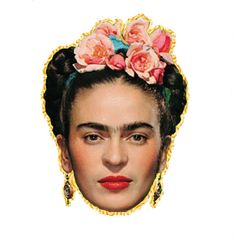 Image discovered by sad boy. Find images and videos about transparent, proud and frida kahlo on We Heart It - the app to get lost in what you love. Diego Rivera Frida Kahlo, Frida And Diego, Printable Masks, Free Printables, Kahlo Paintings, Feminist Icons, Zombie Party, Kids Party Themes, Party Ideas