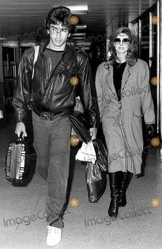 Mike Edwards Picture - Priscilla Presley and Mike Edwards at Heathrow ...