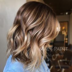"""1,144 Likes, 28 Comments - Marissa Mae Neel (@maeipaint) on Instagram: """"Here's another from earlier this week. I used wella color touch 6/3 on her base and lowlight and…"""""""