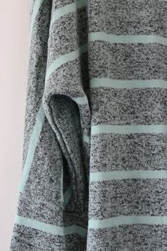 Market & Spruce Corinna Striped Dolman Top in light green and grey from Stitch Fix April 2015