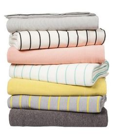 Jersey sheets so soft that you'll never want to get out of bed on those crisp fall mornings.