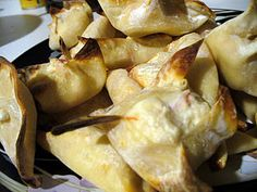 Weight Watchers Find - Baked Crab Rangoon!!! Super easy to make, and freeze really well!