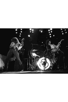 Canvas Print: Led Zeppelin 1973