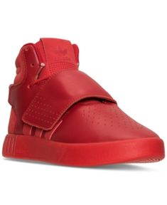92a5c3b262fe74 adidas Big Boys  Tubular Invader Strap Mono Casual Sneakers from Finish  Line Kids - Finish Line Athletic Shoes - Macy s