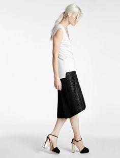 Beaded Wrap Skirt