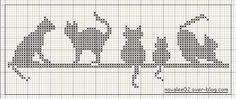 Risultati immagini per disegni ricamo punto maglia