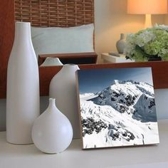 quadro decorativo iced mountain