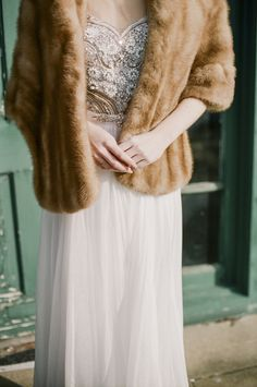 Vintage chic | City Chic Bridal Session Inspiration | Christine Gosch
