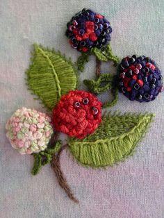 Stump work embroidery!