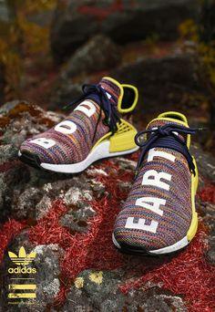 fd2042d71aa8e Pharrell x adidas Originals Hiking Hu NMD TR Adidas Shoes