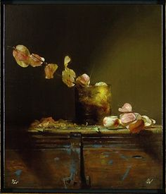 david lelffel paintings   David Leffel Raintree Blossoms