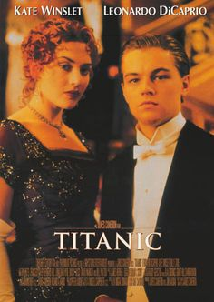 A grand portrait poster of Rose and Jack (Kate Winslet and Leonardo DiCaprio) who share a last dance in James Cameron's epic 1997 love story film Titanic! Ships fast. 24x34 inches. Check out the rest