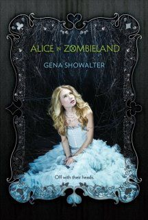 Incredible brand new YA cover from Gena Showalter. Off with their heads!! :)