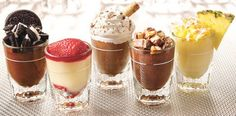 Mini Desserts are fun because you can try more than one!
