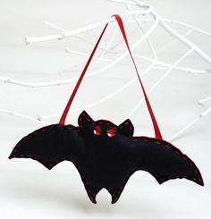 Felt Hanging Bat Halloween Sewing Kit