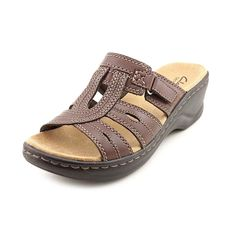 Clarks Lexi Belle Women Open Toe Leather Slides Sandal >>> Don't get left behind, see this great product : Clarks sandals Clarks Sandals, Slide Sandals, Open Toe, Fashion Shoes, Leather, Stuff To Buy, Women, Sandals