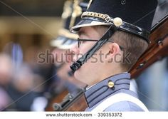 NEW YORK CITY - NOVEMBER 11 2015: New York City's Veterans Day was led by the US navy & grand marshal & world war two naval veteran Robert Morgenthau.