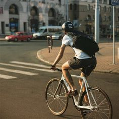 Crew Bike Co. Out In the Streets of Minsk, Belarus