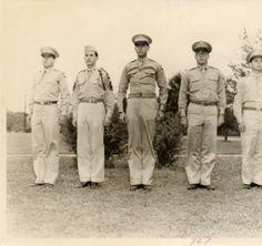 McNeese State University ROTC in 1948. Historic Photographs of Southwest Louisiana