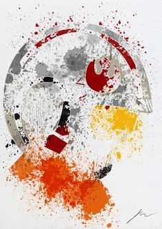 Arian Noveir est un artiste français (cocorico) a qui l'on doit 9 tableaux abstraits sur le thème de Star Wars représentant : Dark Vador, Dark Maul, C-3PO,