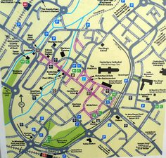 canterbury map - Hledat Googlem Image Map, Spaces, Star, Canvas Frame, Tree Structure, Stars