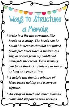 how to begin writing a memoir