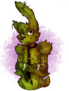 .: Springtrap :. by Reruxe-The-Plush.deviantart.com on @DeviantArt