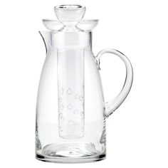 Simplicity Pitcher: love that you can put lemons, strawberries or limes in the center infuser!