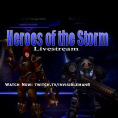 I'll be playing #HeroesOfTheStorm  for a bit :D  Watch Now: http://twitch.tv/invisibleman6  #moba #battle #dota #arena #multiplayer #online #game #games #gaming #livestream #livestreaming #stream #starcraft #diablo #valla #raynor #assassin #marine