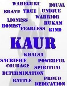 Daughters of the Khalsa: Importance of Kaur