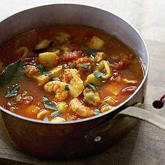Chunky fish soup