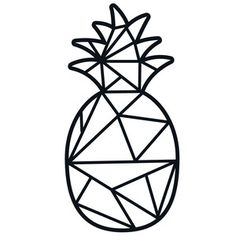 Image result for pineapple geometric