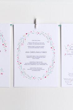 391fb7789 Convites de casamento com aquarela  arte para o dia C